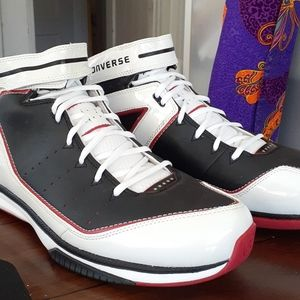 New Converse Hi top basketball sneakers.